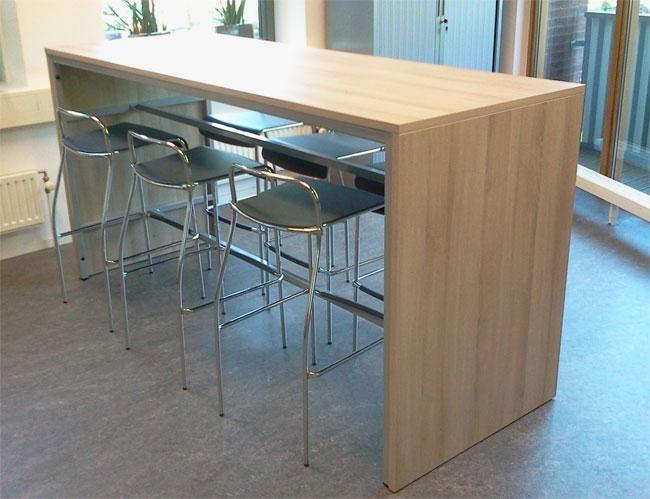 nlr148 bartafel 140x80cm 110cm hoog timmer kantoormeubelen. Black Bedroom Furniture Sets. Home Design Ideas