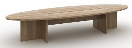 Manager ovale tafel 420x138cm Halifax